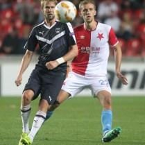 SK Slavia Praha - FC GIRONDINS De Bordeaux Evropska liga Europa League Jaroslav Plasil FOTO CPA