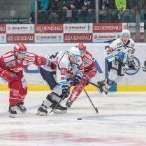 V neděli 7. dubna 2019 se v plzeňské Home Monitoring Aréně odehrál 3. zápas semifinále Generali Play off Tipsport Extraligy ledního hokeje mezi celky HC Škoda Plzeň a HC Oceláři Třinec. ROMAN TUROVSKÝ