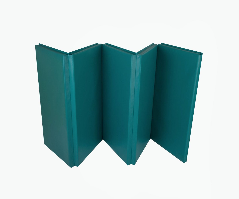 tapis de gymnastique pliable double