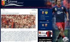 La nota sul sito ufficiale del Genoa