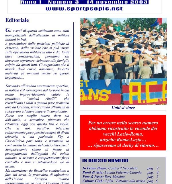 Copertina n° 2003-03