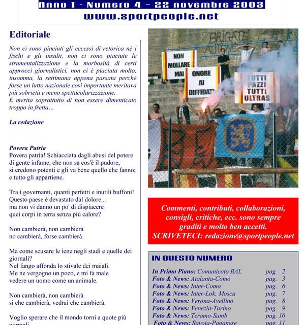 Copertina n° 2003-04