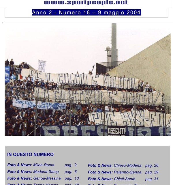 Copertina n° 2004-18