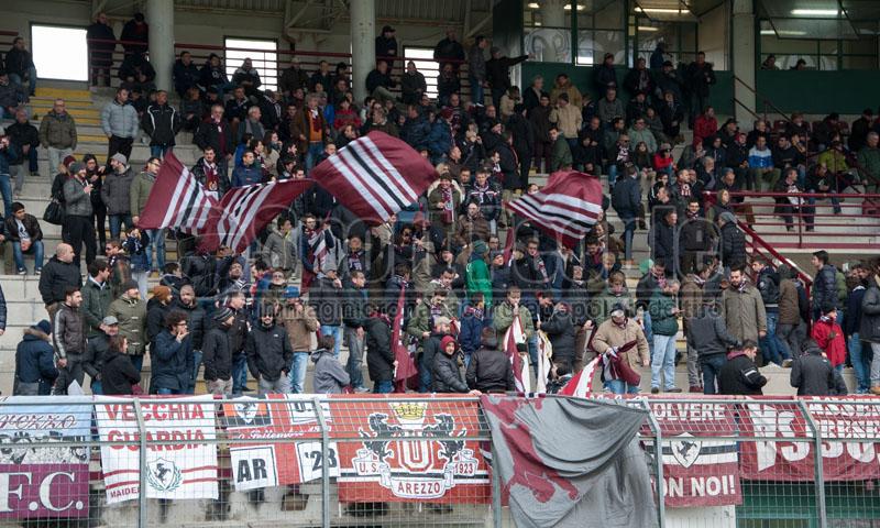 Arezzo-Sansepolcro 2-2, Serie D/E 2013/14