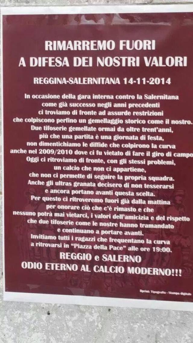 Reggina-Salernitana