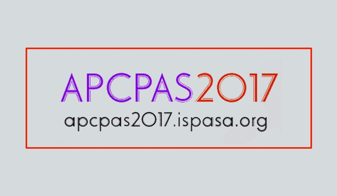 The Asia-Pacific Conference on Performance Analysis 2017 (APCPAS 2017) to be Held in July