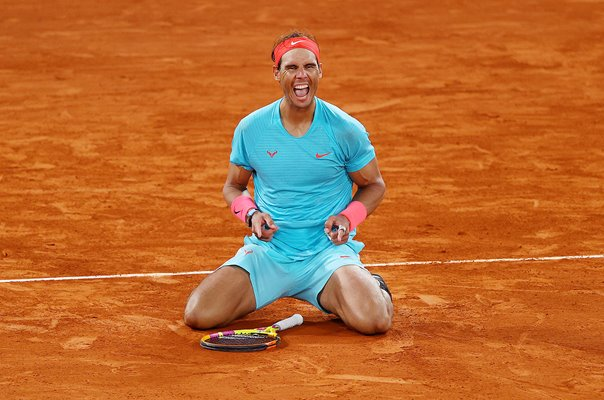 rafael nadal wins french open 2020 and 20th grand slam title
