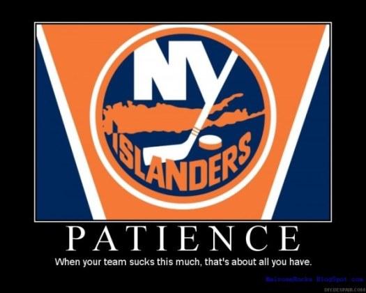 IslandersPatience