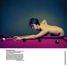 2010 -- ESPN The Magazine -- The Body Issue -- Jeanette Lee