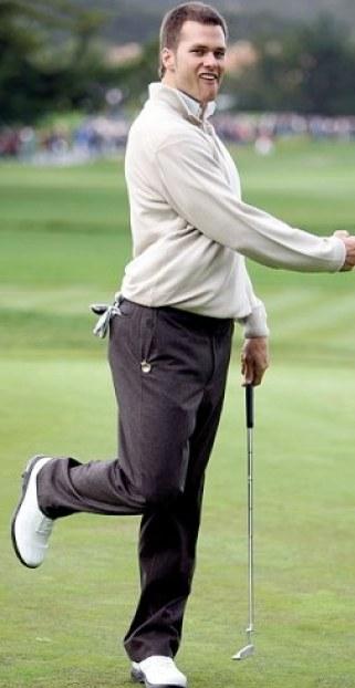 tom brady dork golf