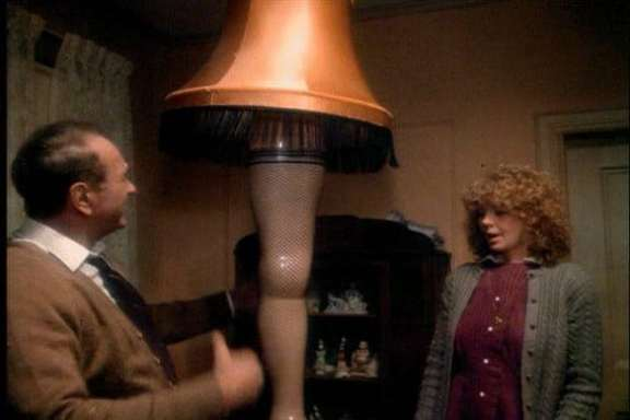 The Christmas Story Lamp.Fra Gee Lay Cleveland Cavs To Give Away A Christmas Story