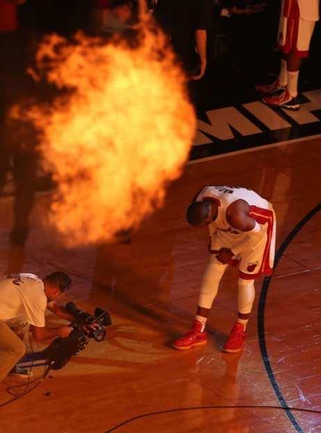 USP NBA: PLAYOFFS-INDIANA PACERS AT MIAMI HEAT S BKN USA FL