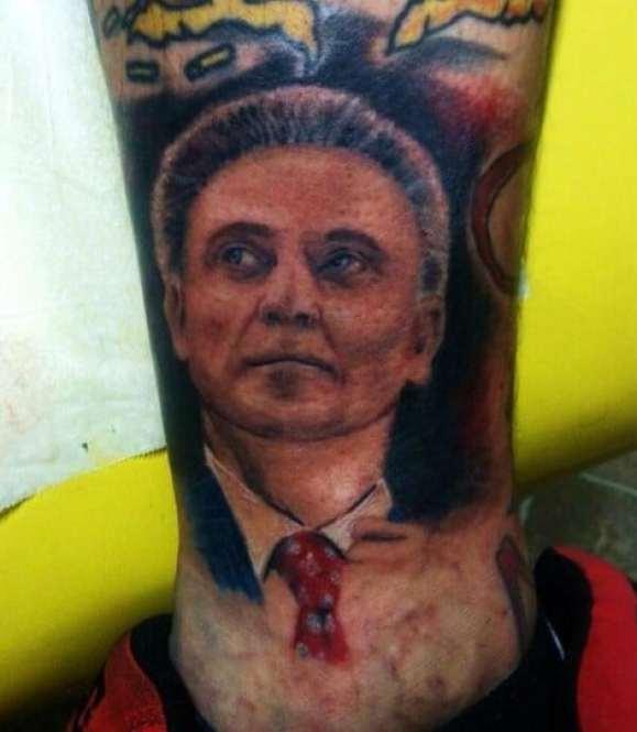 rick-pitino-leg-tattoo