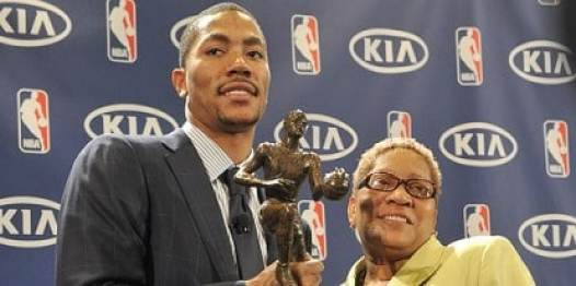 derrick-rose-mother