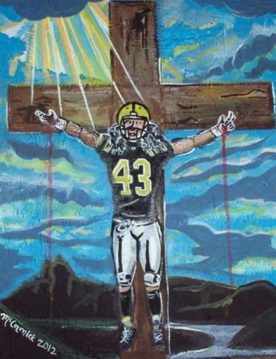 troy-polamalu-crucifixion-painting