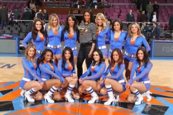 Knicks City Dancers Group Photo