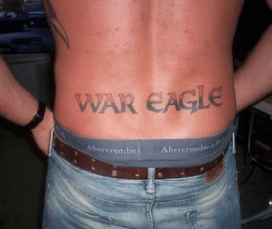 auburn-tigers-war-eagle-tattoo