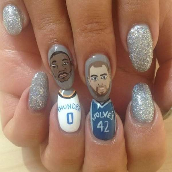 kevin-love-russell-westbrook-nails