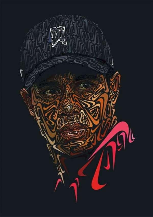 tiger-woods-nike-swoosh-portrait