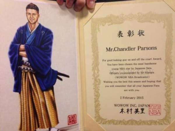 chandler-parsons-handsome-award