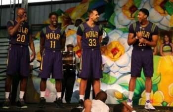 Pelicans Unveil Mardi Gras Inspired Pride Jerseys Photo