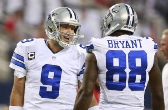 Tony Romo Hangs With Former Teammates Dez Bryant Demarco
