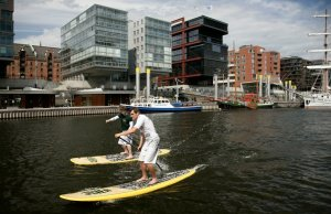 1. Jever SUP World Cup in Hamburg