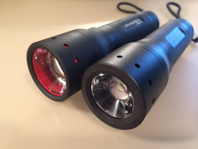 LED-Lenser P7 und P7.2
