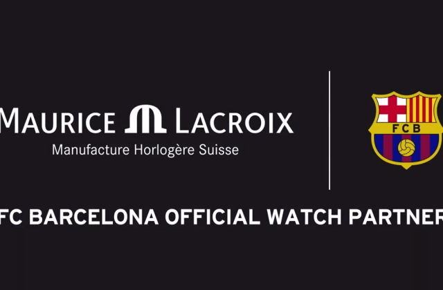 Maurice Lacroix official watch partner of FC Barcelona