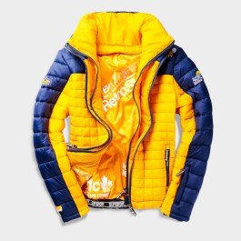SUPERDRY SNOW BOX FUJI RADIO JACKET_NAVY SUNRISE YELLOW -ú134.99