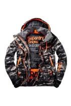 SUPERDRY SNOW - ULTIMATE SNOW SERVICE JACKET - CAMO