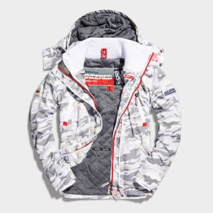 SUPERDRY SNOW - WIND YACHTER - SNOW CAMO -ú89.99