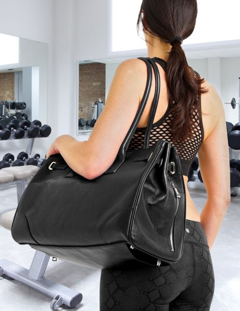 gym-girl-gym-bag-icon