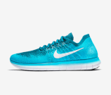 Nike-Free-RN-Run-Flyknit-2017-blue-blau