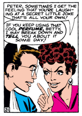 Peter-Parker-and-Betty-Brant-hiding