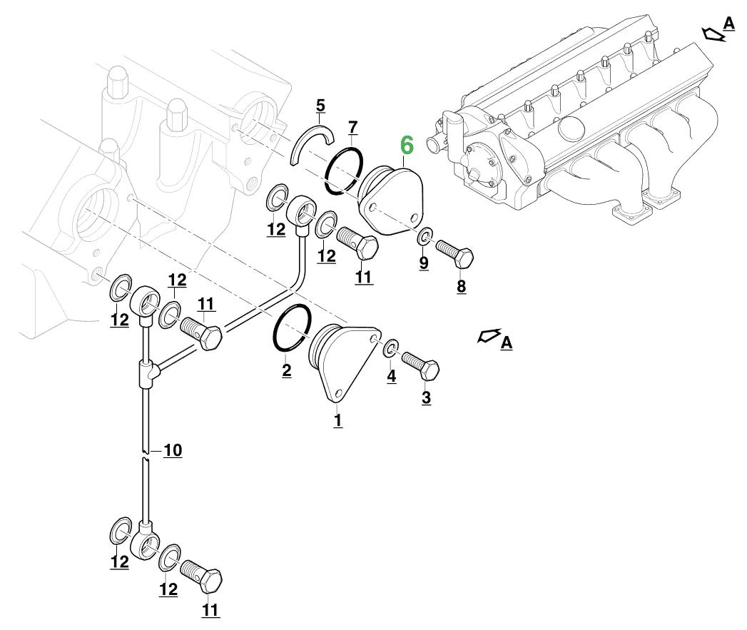 Jaguar Xke Xj6 Cylinder Head Blanking Plug Nos C