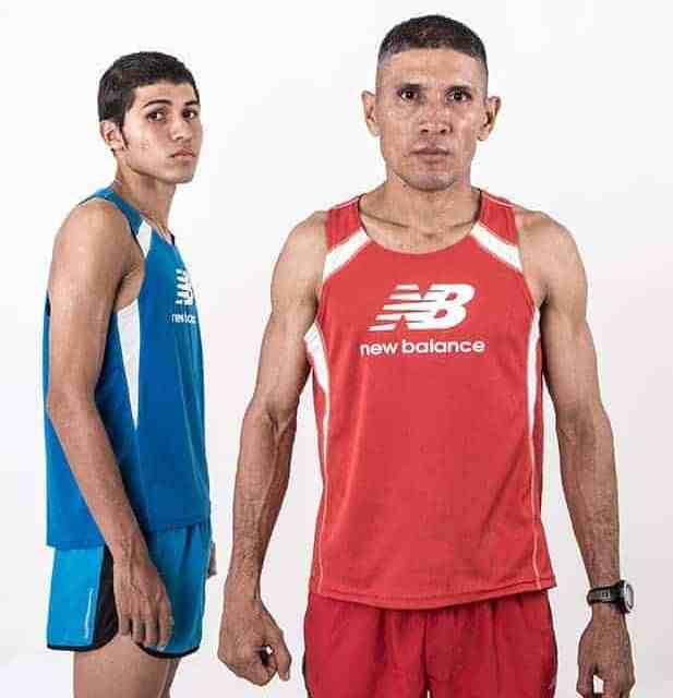 Nicolás García, dos generaciones unidas por el running