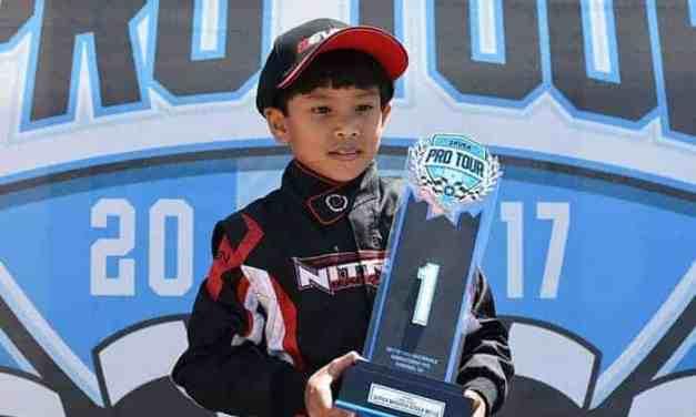 Un piloto nato. Sebastián Ng, futuro representante en la F1