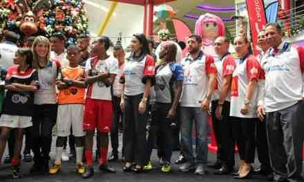 Lanzamiento oficial del torneo Mundial del Barrio