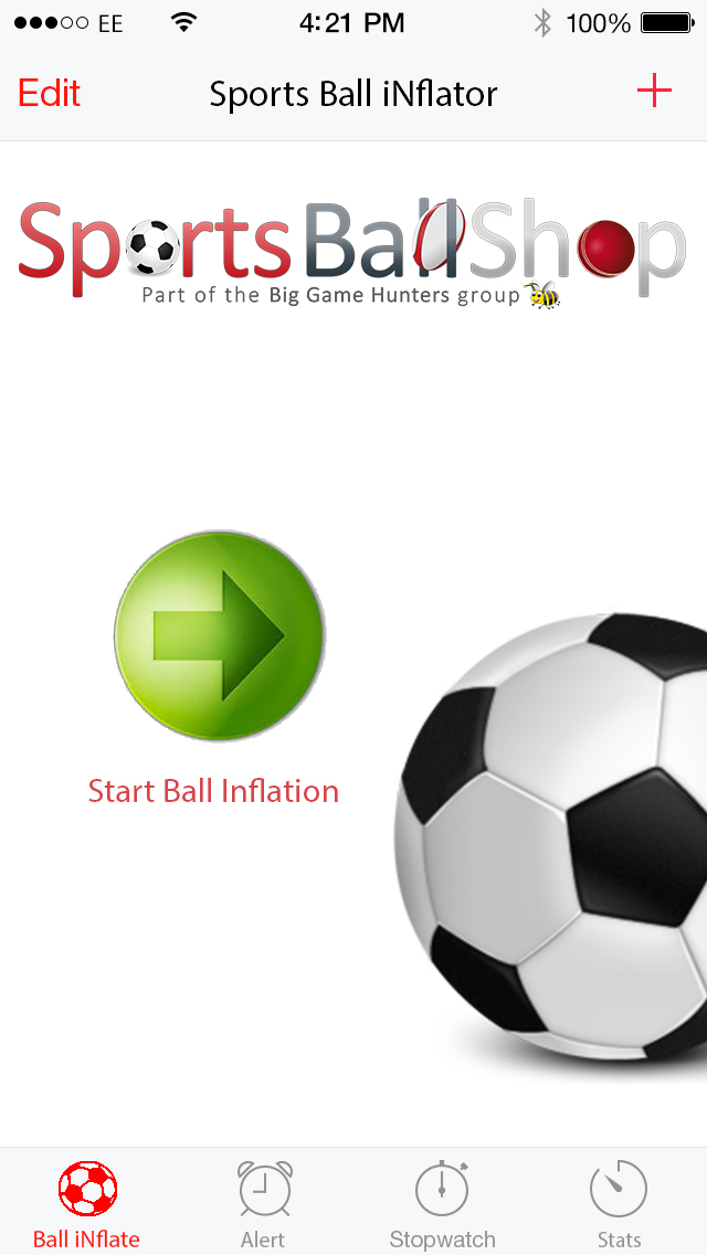 Inflate Your Balls Using Our New Phone App