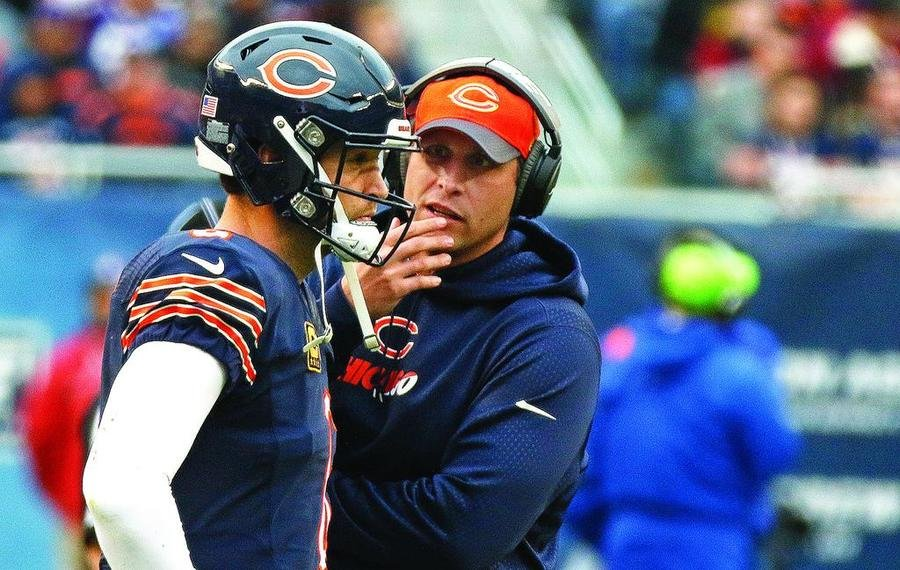 Image result for jay cutler and Adam Gase
