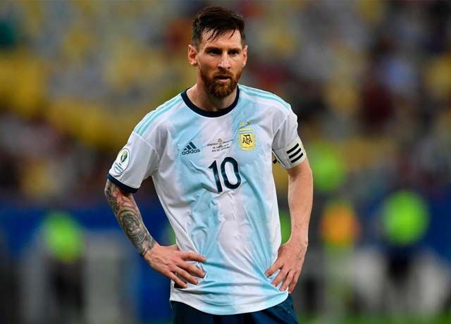 Lionel Messi suspended