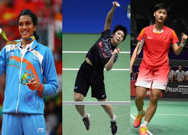 This is the world's top 5 Women badminton players