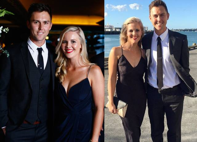 Trent Boult's wife Gert Smith is very cute