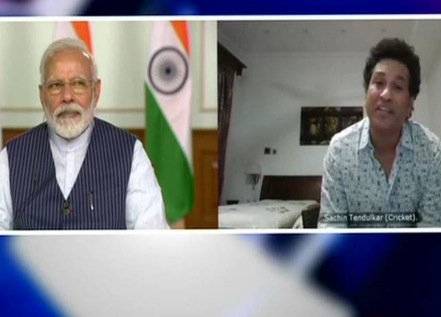 PM Modi talks to 40 players including Ganguly-Sachin-Kohli on Coronavirus