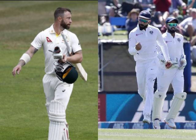 Matthew Wade Says Sledging Not Useful Against Virat and company during india series