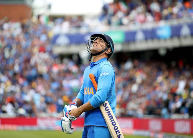 Jersey number 7 MS dhoni Retires From International Cricket