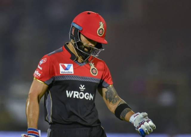 IPL: If Virat Kohli scored 27 runs in that match, then world record would have been made