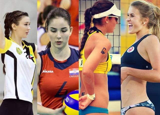 Top 5 Hottest and Sexiest Female volleyball Players