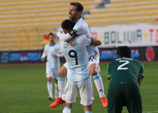 World Cup Qualifiers: Argentina beat Bolivia 2-1